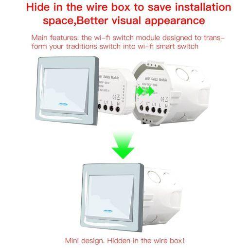 Interruptor wifi  smart life/tuya