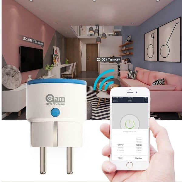 NEO-CoolCam-ZWave-Plus-mini-plug-smart-casa-AUTOMATION-n-ZWave-femminile-WAVE-Z-estensore