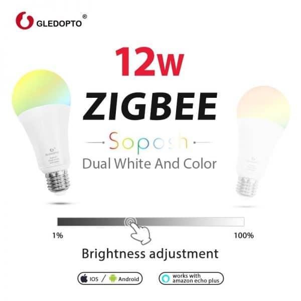 Bombilla LED RGB 12W Zigbee GLEDOPTO