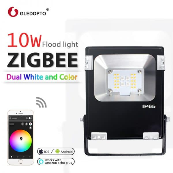 GLEDOPTO-ZIGBEE-10-W-Reflektor-LED-RGB-AAC-Weiß-c-Lido-und-Weiß-Zigbee-Licht-Verbindung