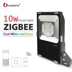 GLEDOPTO-ZIGBEE-10-W-Reflector-LED-RGB-AAC-blanco-c-lido-y-blanco-zigbee-luz-enlace