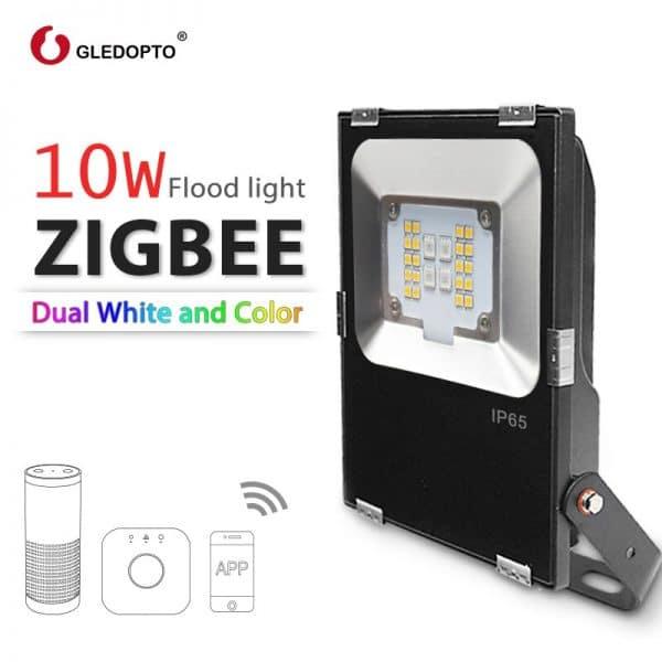 Foco de luz exterior Zigbee Gledopto 10W