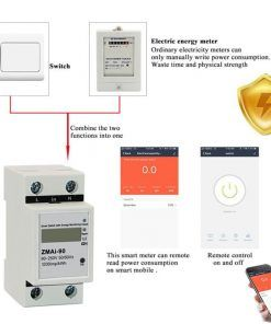 WiFi-Tuya-app-de-5-60-una-sola-fase-carril-Din-interruptor-inteligente-con-control-de