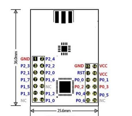 ZigBee-a-puerto-serie-TTL-uart-inal-mbrico-PA-para-CC2530-CC2591-hardware-inteligente