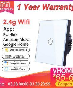 Vhome-Ewelink-Interruptor-t-ctil-2-4G-Wifi-inteligente-casa-Interruptor-t-ctil-Panel-UE-Reino