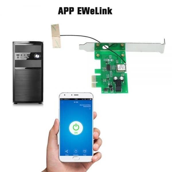 PCIe-плата для дистанционного зажигания eWeLink