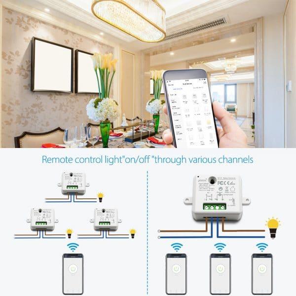 Tuya-vida-inteligente-peque-o-WiFi-m-dulo-hembra-interruptor-de-la-luz-App-Control-remoto
