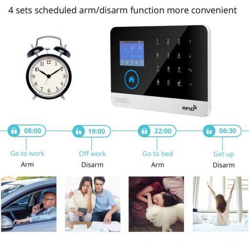 Kit Central Alarma Wifi y Gsm