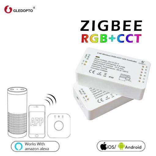 Led Strip Controller Gledopto 1ID / 2ID rgb + cct