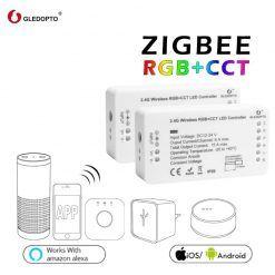 Gledopto-1ID-2ID-rgb-cct-led-controlador-ZIGBEE-ZLL-DC12-24V-de-controlador-de-luz-rgbw