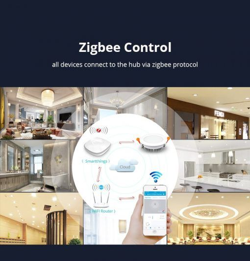 Downlight Zigbee RGBW 12W