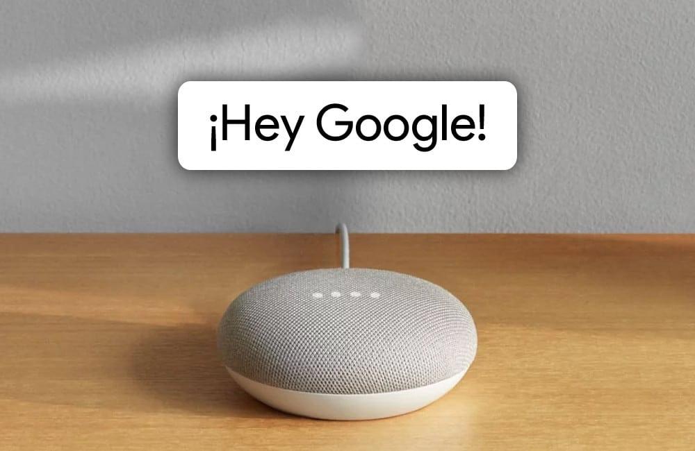 Google Home Lista de órdenes para la domótica